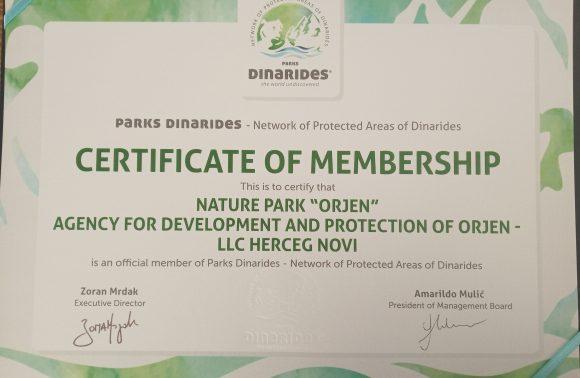 Park prirode Orjen na Skupštini Parkova Dinarida
