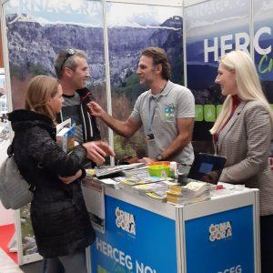PARK PRIRODE ORJEN na sajmu outdoor i camping turizma u Ljubljani