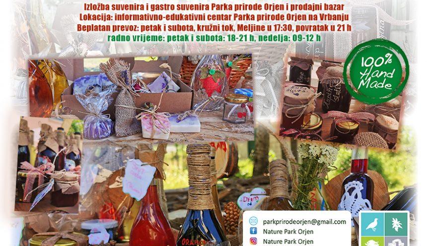 Izložba suvenira i bazar u Parku prirode Orjen